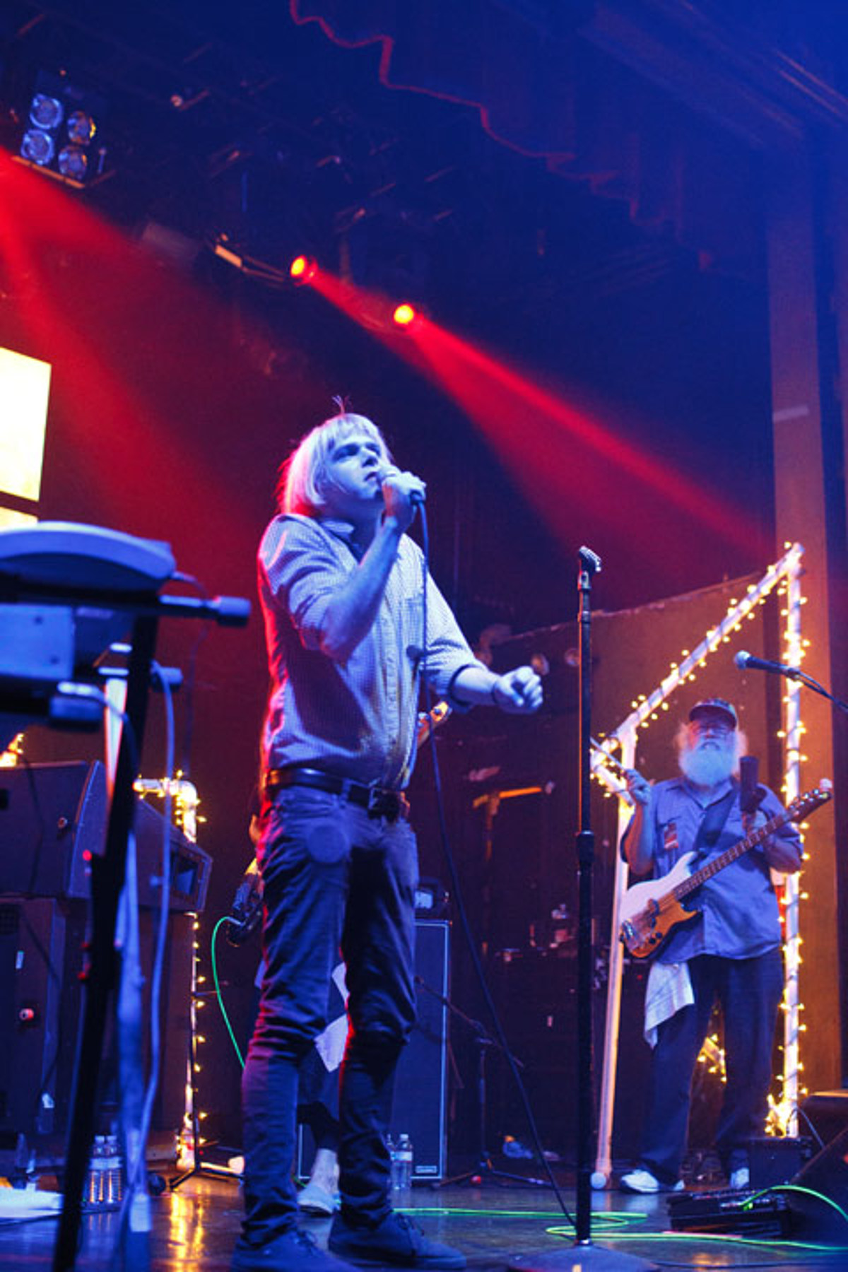 Ariel Pink played Webster Hall (but not 285 Kent) with R  Stevie