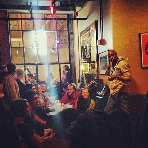 Knitting Factory Brooklyn Comedy : Dave chappelle played hannibal buress comedy night at