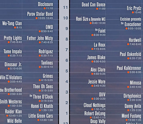 Coachella 2013 set times posted, we made a Spotify playlist