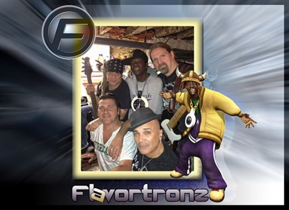 Flavor Flav now fronts a cover band (playing NYC) - 웹