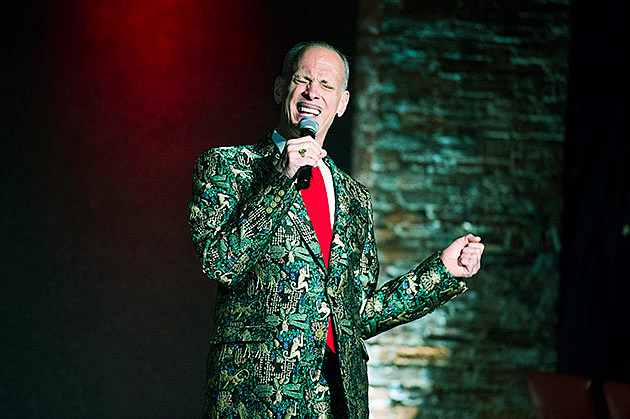 John Waters at City Winery (more by Greg Cristman)