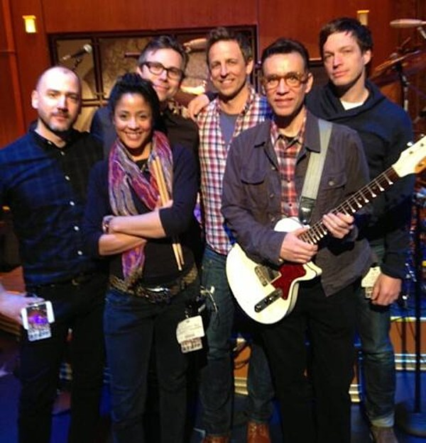 Fred Armisen is new 'Late Night' bandleader; U2, Arcade Fire Justin Timberlake among Fallon's first 'Tonight Show' guests