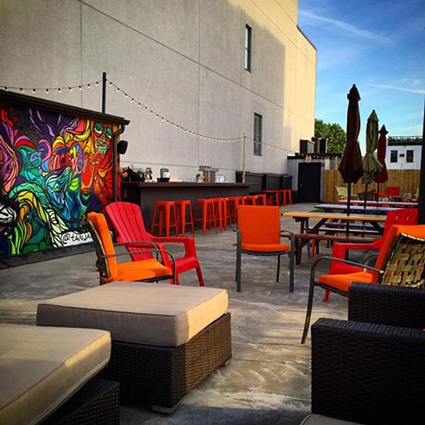 The Living Rooms Rooftop Bar And Lounge Now Open