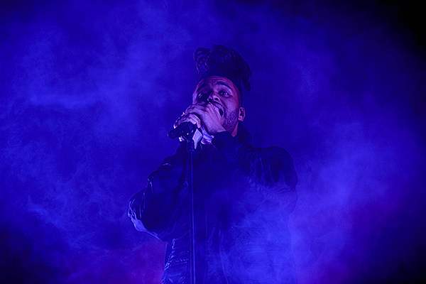 The weeknd concert dates 2015