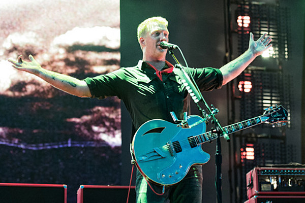 QOTSA played Made In America (pics); The Kills opening for them at Barclays Center; The Dead Weather recording
