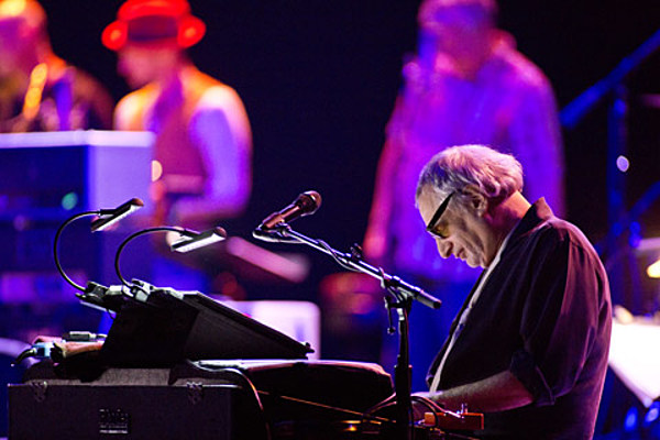 Steely Dan in the middle of their Beacon Theatre run (pics from Tuesday, review from Thursday), four more shows to go