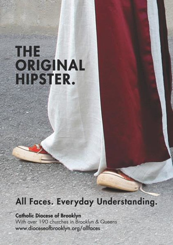 Jesus is 'The Original Hipster' says Brooklyn Catholic Diocese