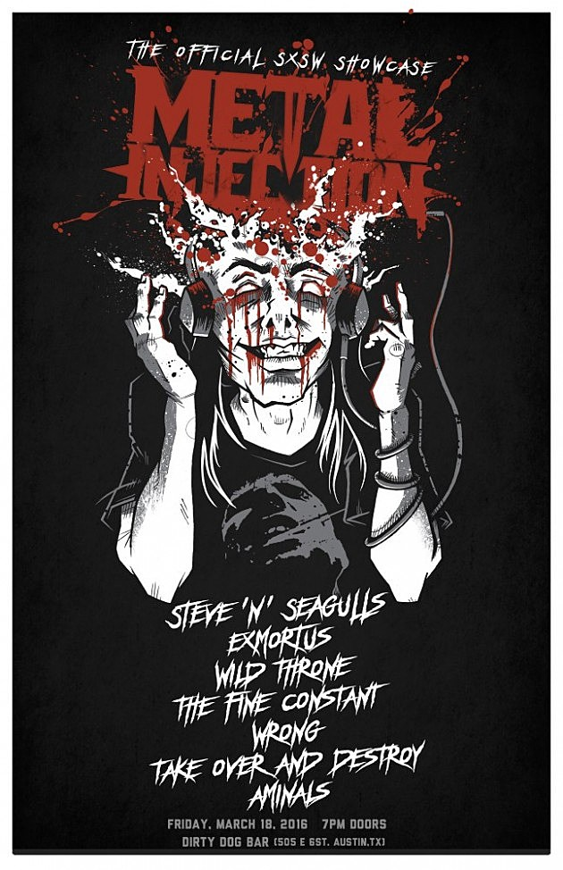 Metal Injection Show Flyer