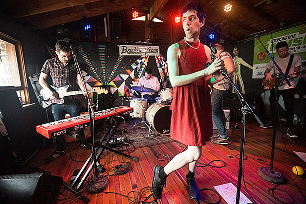 Ezra Furman at Cheer Up Charlies