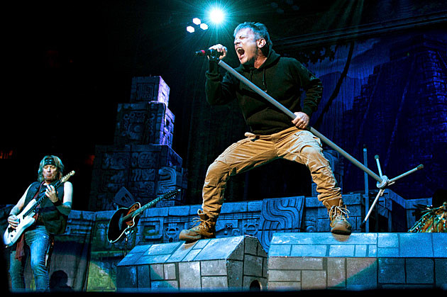 Iron Maiden brought their killer stage show to Madison Square