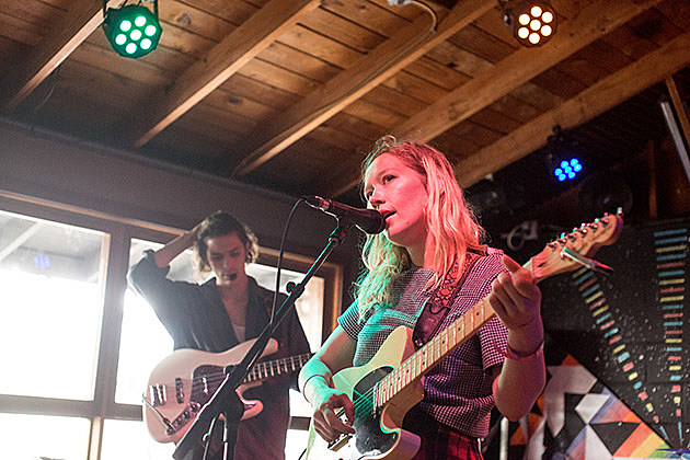 Julia Jackin at Cheer Up Charlies