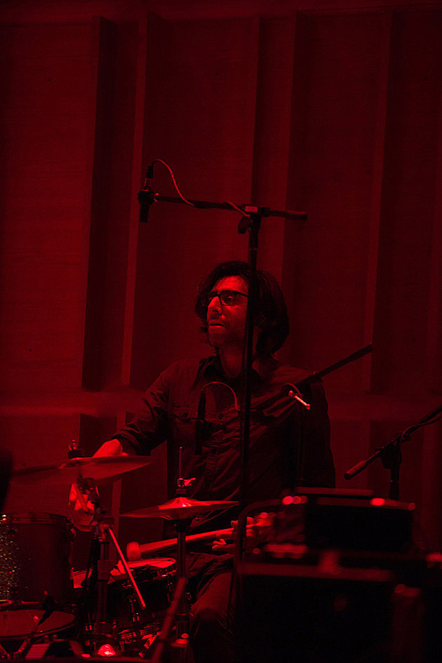 Lee Renaldo, Brian Chase, Dither Quartet at Ecstatic Music Festival