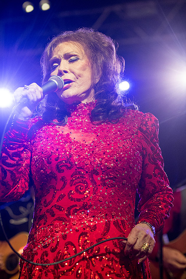 Loretta Lynn at Stubb's