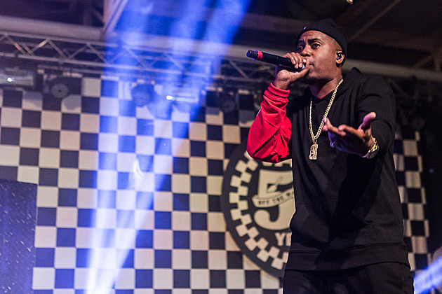Nas at House of Vans
