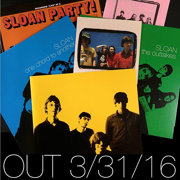 Sloan Released One Chord To Another 20th Anniversary Box