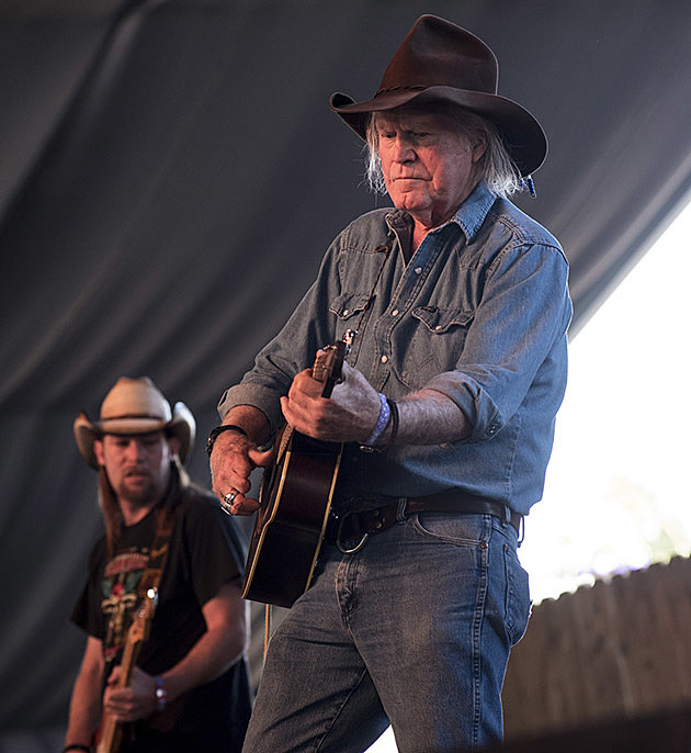 Billy Joe Shaver at Stagecoach Festival