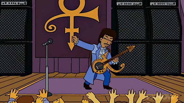 Prince on the Simpsons