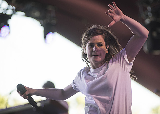 Christine and the Queens at Coachella