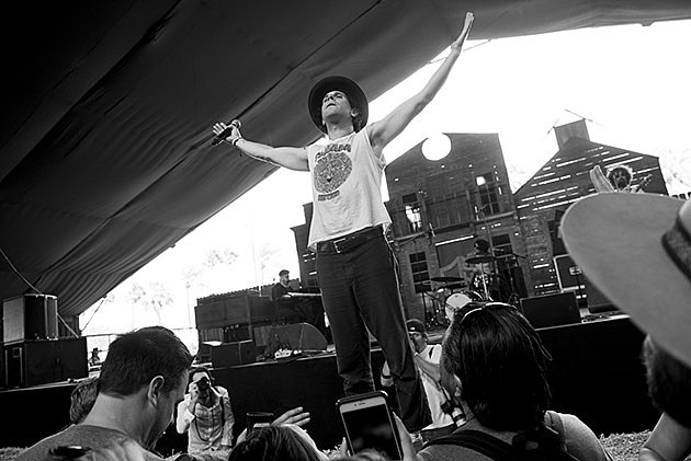 Langhorne Slim and the Law at Stagecoach Festival