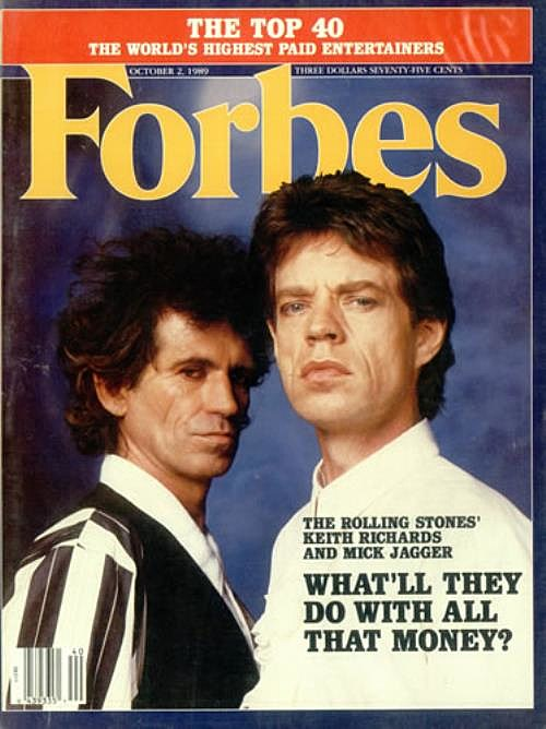 Rolling Stones Forbes