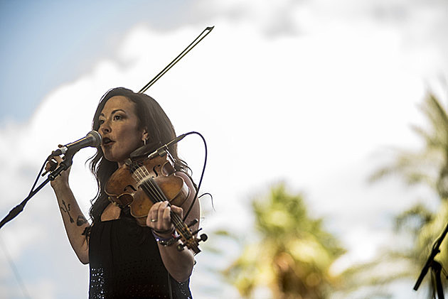 Amanda Shires at Stagecoach Festival