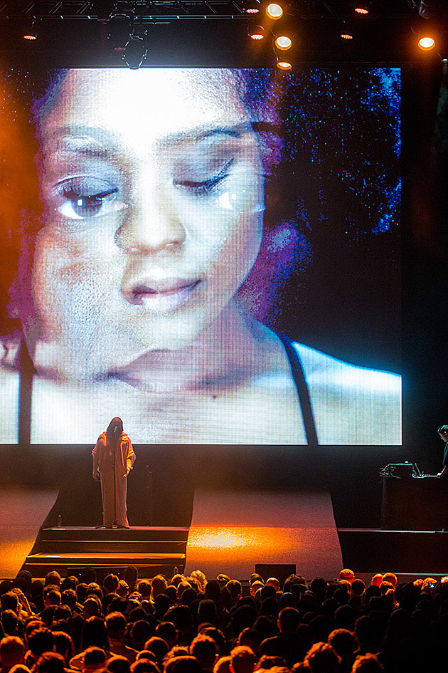 Anohni at Park Avenue Armory for Red Bull Music Academy