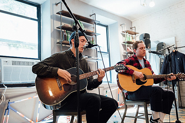 Basement instore at Fred Perry