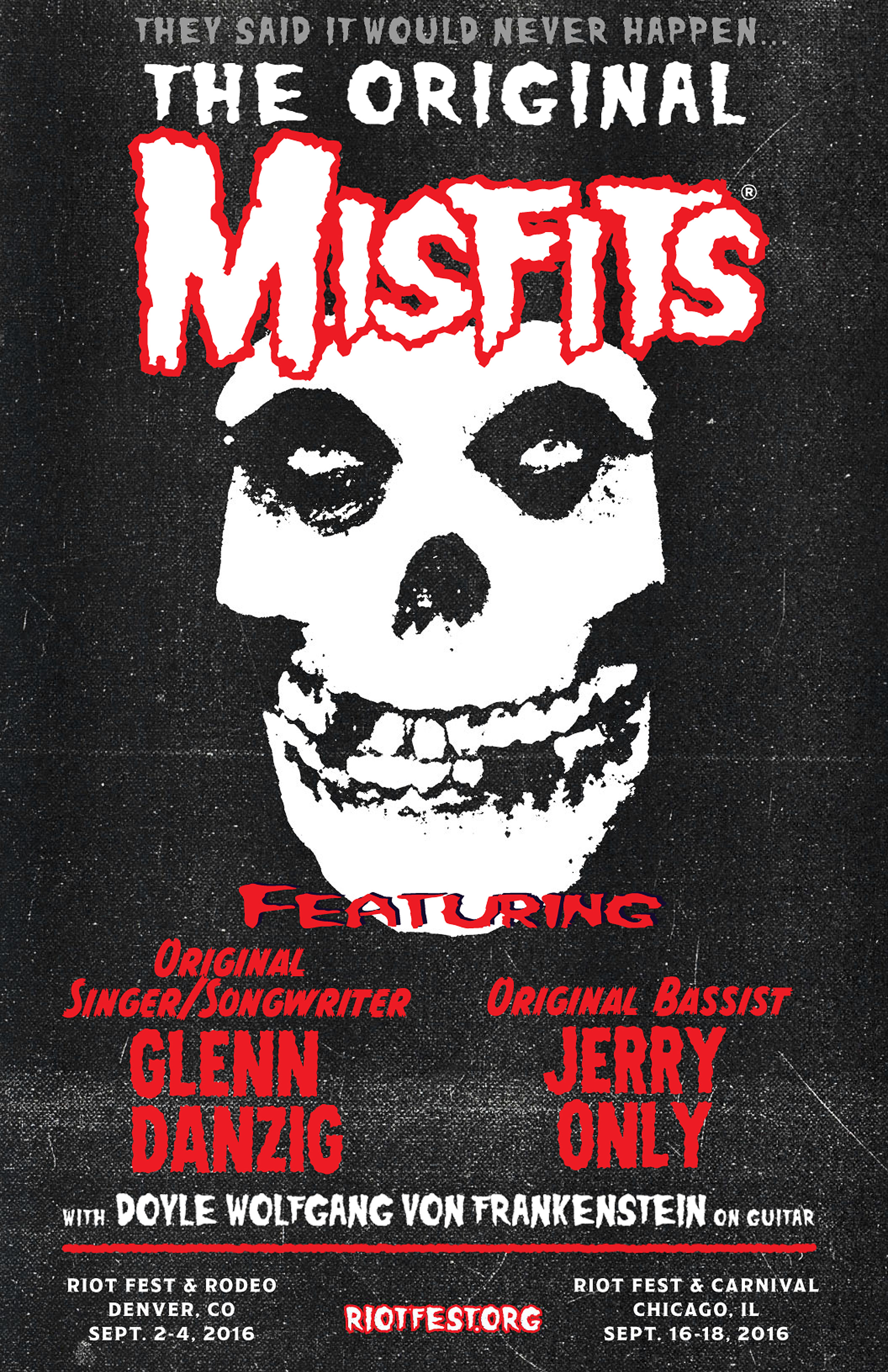 misfits will reunite with danzig amp doyle for the first