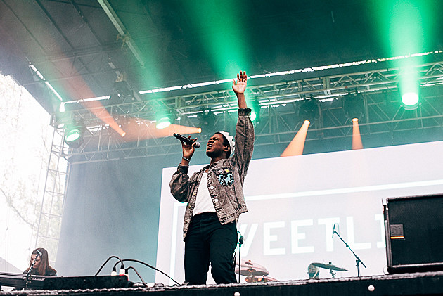 Shamir at Sweetlife