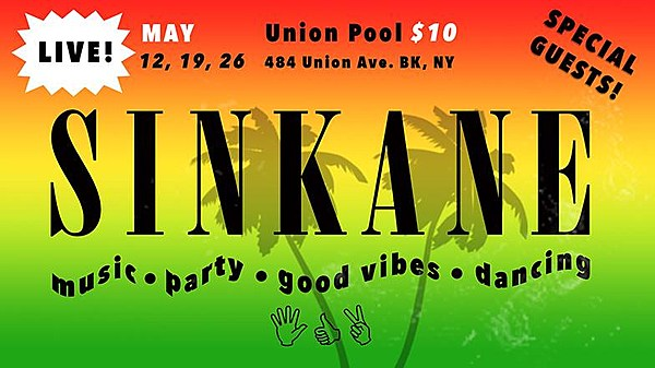 sinkane playing three show union pool residency this month