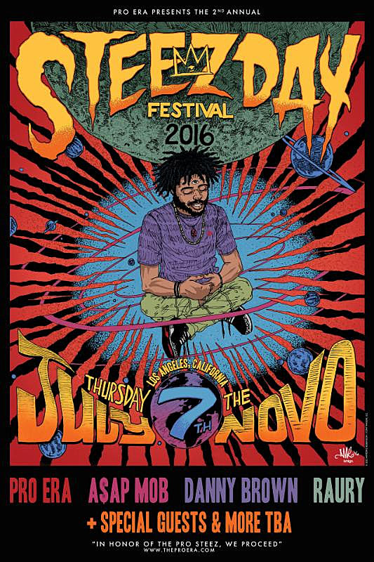 Steez day flyer