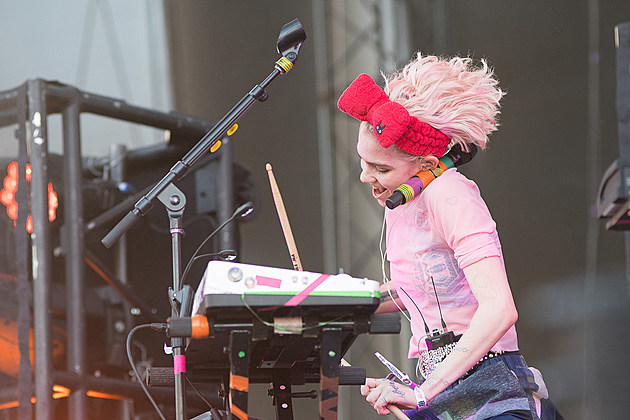 Grimes at Sasquatch 2016
