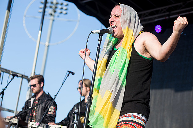 Har Mar Superstar at Burger Beach Bash NYC