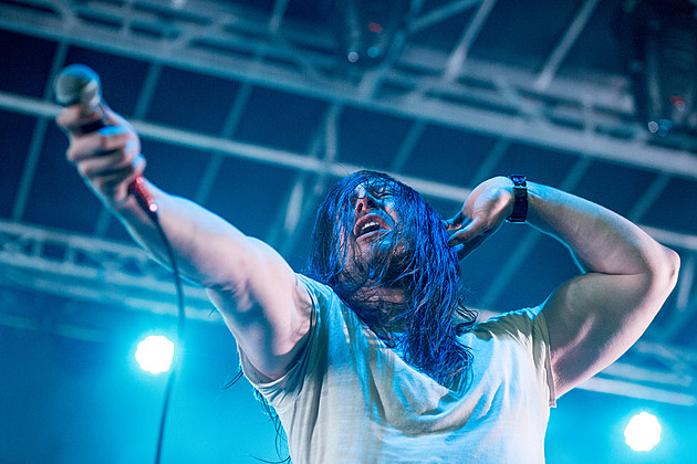 Andrew W.K. at Burger Beach Bash NYC