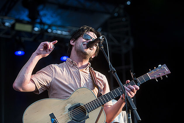 Conor Oberst at McCarren Park