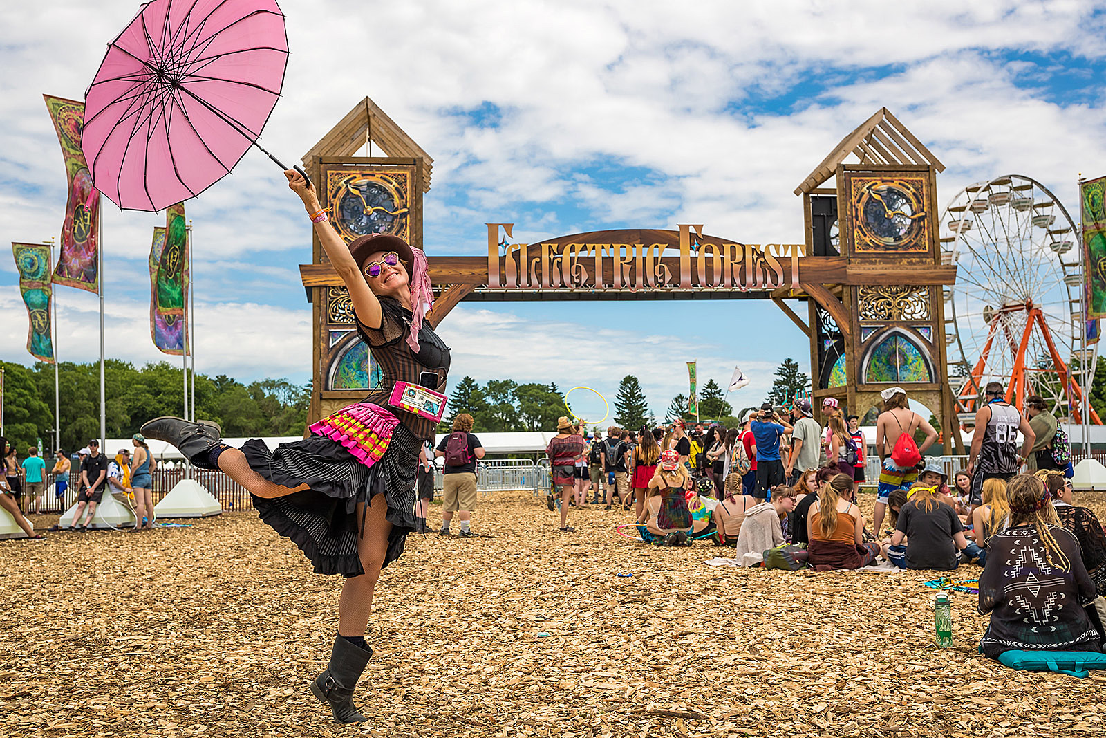Image result for electric forest photos