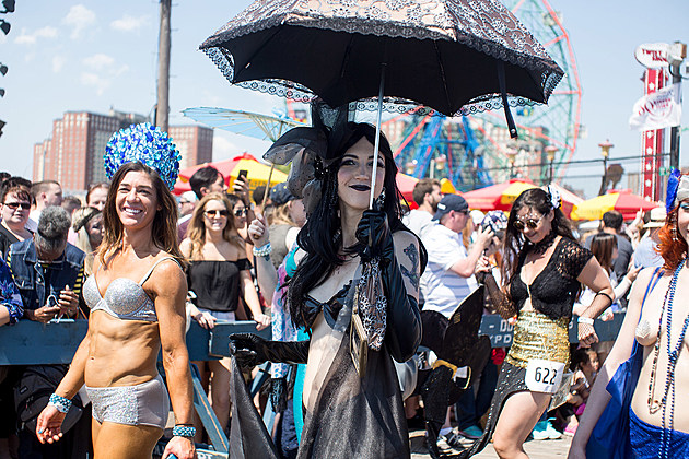The 2016 Coney Island Mermaid Parade