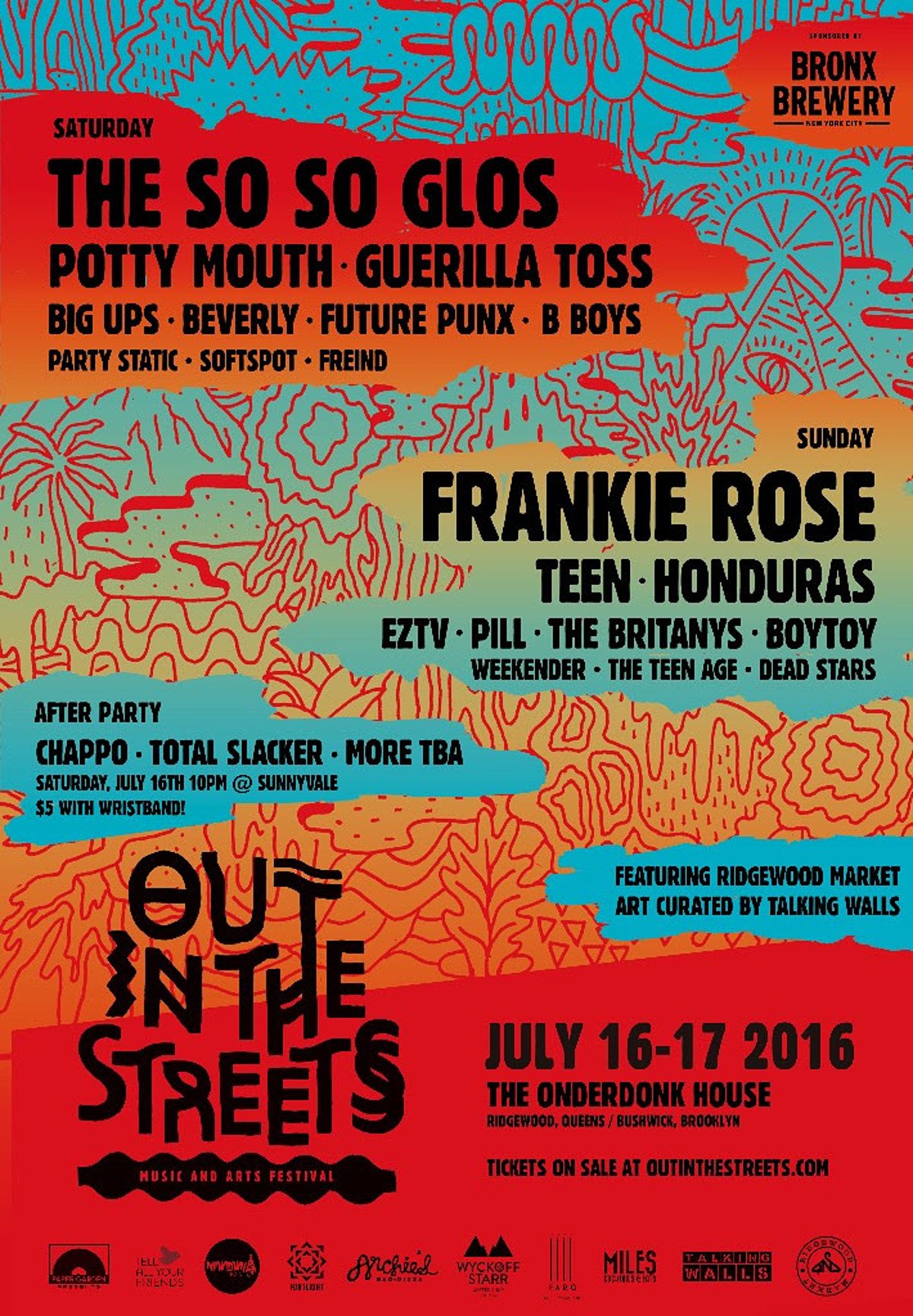 Beverly, EZTV, Honduras & more added to Out in the Streets