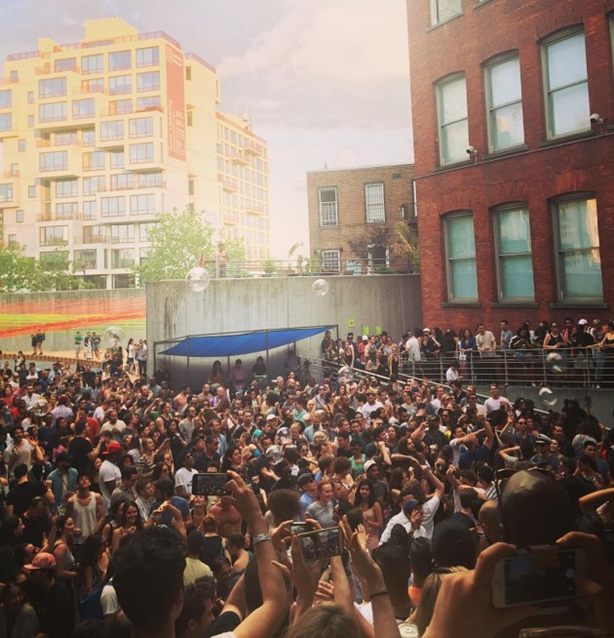 DJ Premier helped kick off Warm Up 2016 at MoMA PS1 (pics