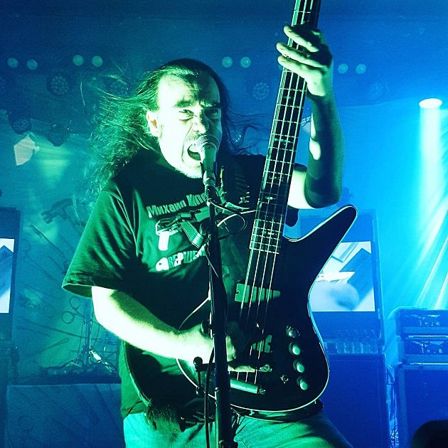 Carcass at the Roxy in Hollywood on July 24 (via @cedenocanessa