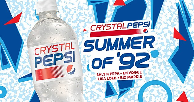 Crystal Pepsi Like Everything Else From The 90s Is Back Salt N Pepa En Vogue More Helping Celebrate At T5