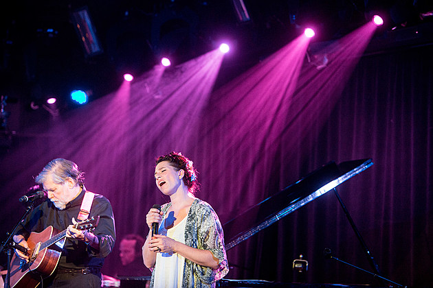 Jack and Amanda Palmer at Le Poisson Rouge