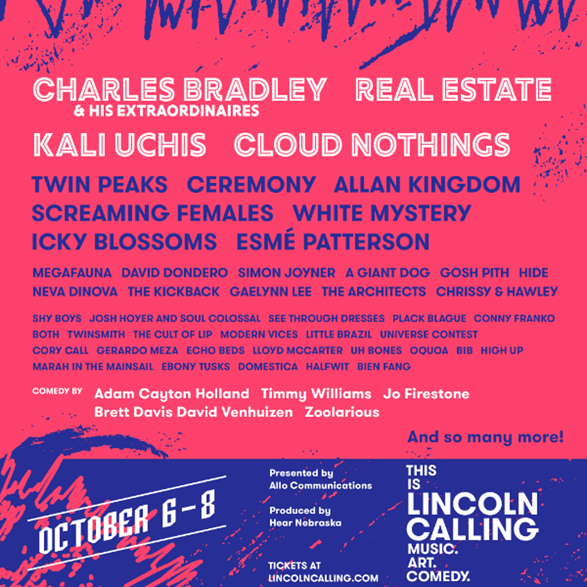 Lincoln Calling music festival 2016 initial lineup & tickets