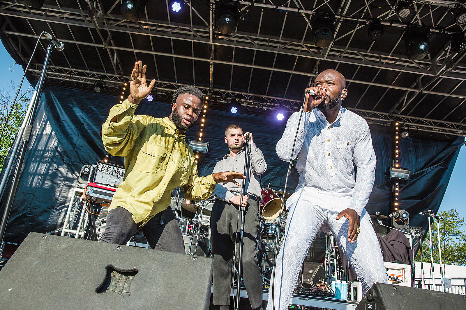Young Fathers at Afropunk Fest 2016 - Sunday