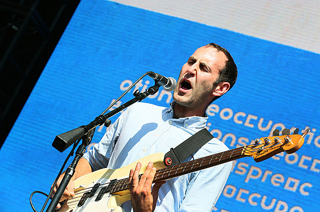 Preoccupations at FYF Fest 2016 - Sunday