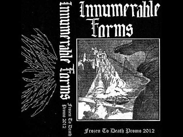 "Innumerable forms - ""frozen to death"""