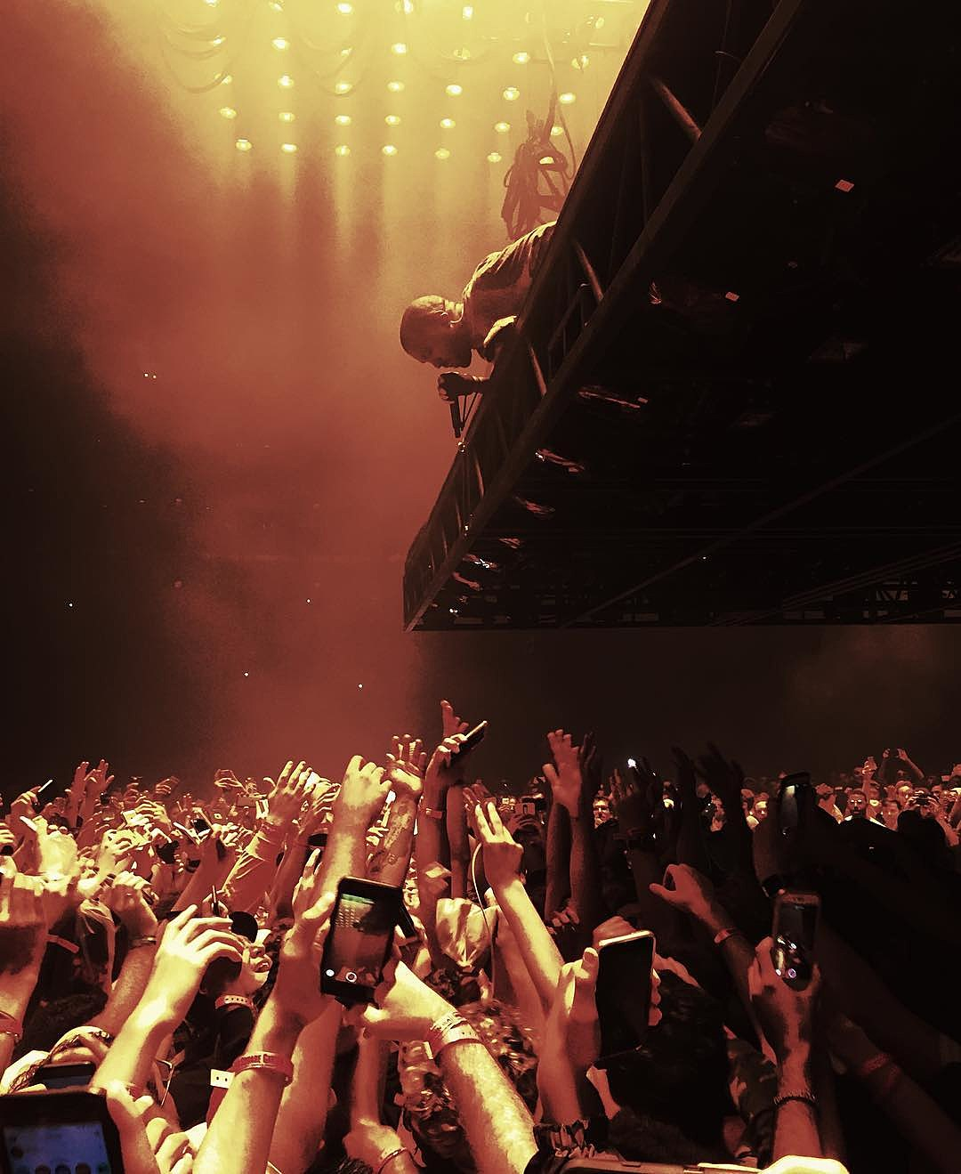 Kanye Began His 2 Night Stand At Msg After Joining Bad Boy Reunion