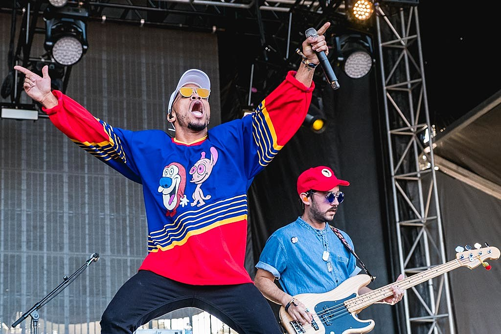 Anderson.Paak & The Free Radicals at Weekend 2 of ACL Festival 2016