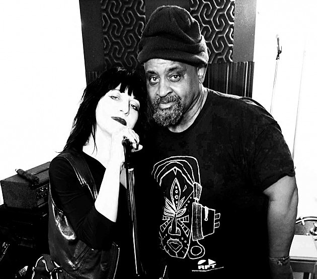Lydia Lunch and Umar Bin Hassen