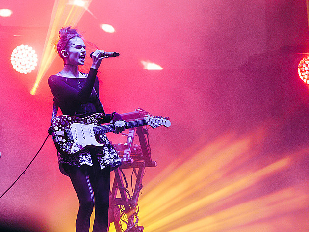 Grimes at The Meadows 2016 - Saturday